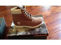 Light brown timberland boots