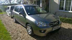 KIA CARENS GS CRDI MPV 7 SEATS 138hp, FSH, 65K GENUINE LOW MILEAGE