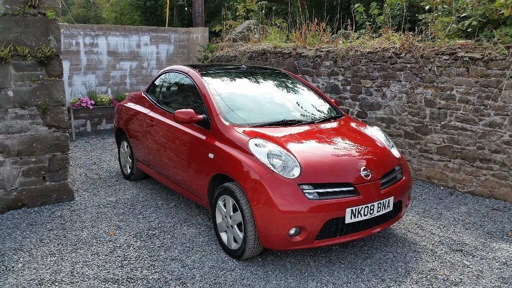 nissan micra 08 convertible mot until october 2017 3 months warranty breakdown recovery in. Black Bedroom Furniture Sets. Home Design Ideas