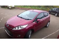 ford fiesta zetec 2010 registration,1242cc petrol, only 77,000 miles, new mot ,