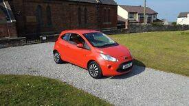 09 REG FORD KA STLE 1.2 PETROL 5DR RED MOT-18 2-OWNERS SHOWROOM-CONDITION FREE-DELIVERY VERY CHEAP