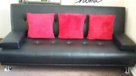 Black Sofa Bed In great condition.