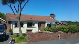 Detach 3 bedroom house with views of the Mournes and sea