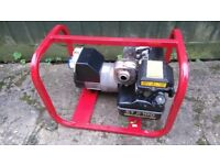 2.2Kva Briggs and Stratton Petrol Generator dual voltage 110/240v