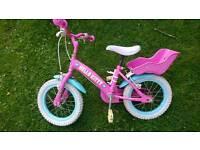 Childs hello kitty bike