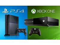 xbox one , ps4 , ps3 , ps2 , wii , xbox 360 and all games !!! WANTED