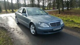 2005 '55' Mercedes Benz S Class S320 CDI - 90K MILES FULL DEALER HISTORY £3195 ONO