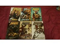 Marvel Graphic Novels Trade Paperbacks Comics - Deadpool, Avengers, Iron Fist