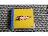 sega dreamcast Crazy Taxi boxed with instructions