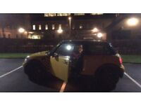 MINT CONDITION Yellow Mini Cooper, 2007 Hatchback 81000 miles Manual 1.6L Petrol