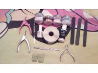 Acrylic nail bits