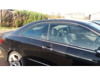 Mercedes CLK Window shades W209 Coupe