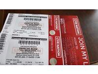 Depeche Mode 2 tickets