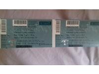 Belinda Carlise tickets x 2 Manchester Academy