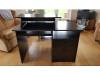 Black Oak finish Desk for Home Office or schoolwork. Price dropped!!!