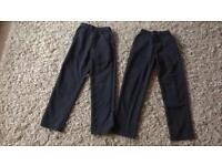Next Boys jean style slim fit grey school trousers age 8 & 9