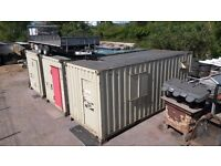 LARGE SECURE STORAGE/OFFICE CONTAINERS