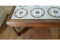 G plan tile inlay coffee table FREE DELIVERY