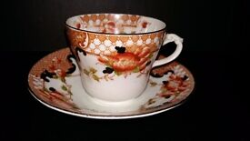 Perfect for mothers day, birthdays etc. Vintage bone china cup & saucer afternoon tea gift set