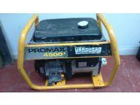 portable petrol generator brigs and stratton 4.2 kva generator good working condition 240/110/volt