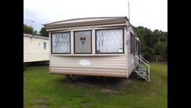 Caravan cosalt Devon 12x37 3 bed