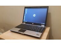 HP EliteBook 4 Hours Battery Windows 7 & Office 2010 laptop