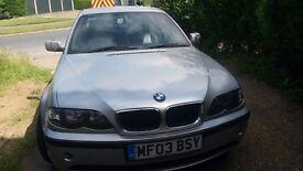 BMW 320i 2003 Full Leather air con MOT Remote key