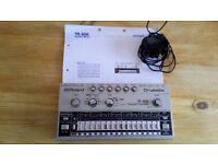 Roland TR 606 Drum Machine original 1980's model