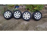 5x100 Alloys and Winter Tyres Audi - VW - Seat - Skoda
