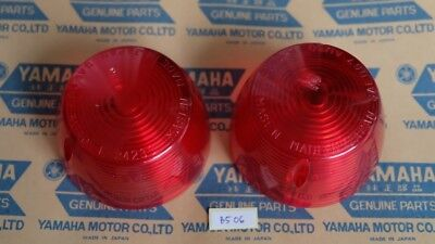 Yamaha XS1 XS2 GT80 DS7 CS5 Turn Signal Lens Pair NOS Japan for sale  Shipping to Canada