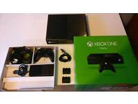 Microsoft Xbox One 1TB with games and accessories