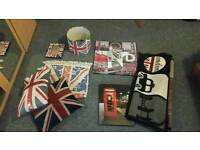 London themed bedroom accessories package