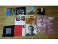 11 x ub40 vinyl LP's / 10 inch collection / magazine