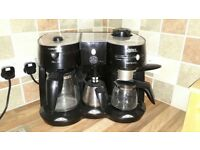 Morphy Richards coffee maker and milk frother