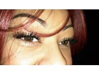 Individual Eye Lash Extensions