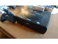 SEGA Saturn with Controller & RAM Cart