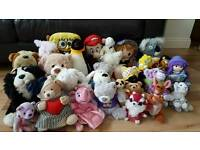 Over 30 Cuddly Toys