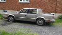 1988 Chrysler New Yorker Berline. landau