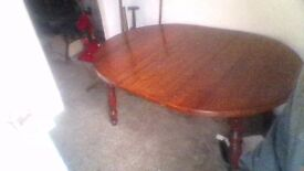 large dining table.