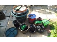 Gardening Pots & Other Items