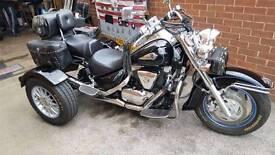 Suzuki trike vl 1500 black/chrome
