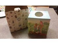 Beatrix Potter tissue box cover