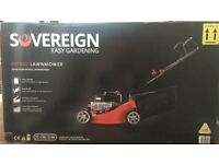 Brand new Sovereign petrol lawnmower new in box