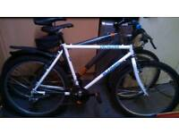 2 mountain bikes 26inch vintage specialised rock hopper and diamond back mtb