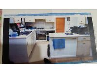 Used Kitchen Units, Cabinets, Worktop and Gas Hob