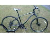 SOLD INDIGO VERSO X3 DISC SPEC HYBRID BIKE WITH LOCKOUT FORKS * FULLY SERVICED *