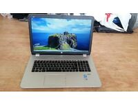 hp envy 17 notebook pc 17 j141na windows 7 12 g memory 750g hard drive processor intel core i7