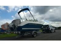 2006 Jeanneau Cap camarat, 115Hp HONDA FS, 2 berth fast fisher
