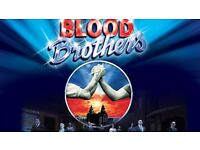 4 tickets - Blood Brothers, 25/03/17, HMT, Aberdeen