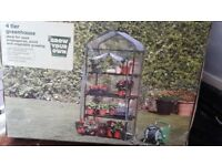 4 Tier Greenhouse (NEW SEALED BOX)